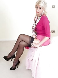 Bianca - Wrong stockings!