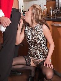 Sexy Russian slut dripping semen after anal creampie!!!