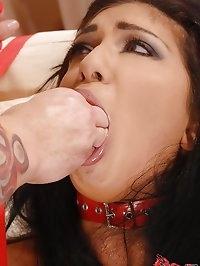 Fisting fun for sexy Mai Bailey!