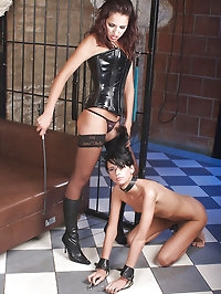 Girl gets bound, beaten, punished