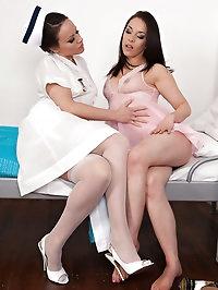 Nurse Lucy and Jess...