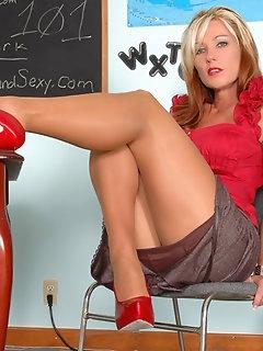 Teacher Nylon Porn