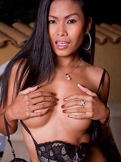 Asian Nylon Porn