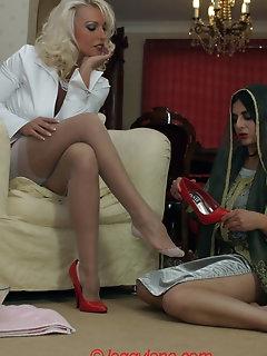 Foot Fetish Nylon Porn