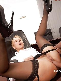 Secretary Nylon Porn