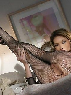 Fishnet Nylon Porn