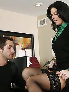 Naughty Nylon Porn
